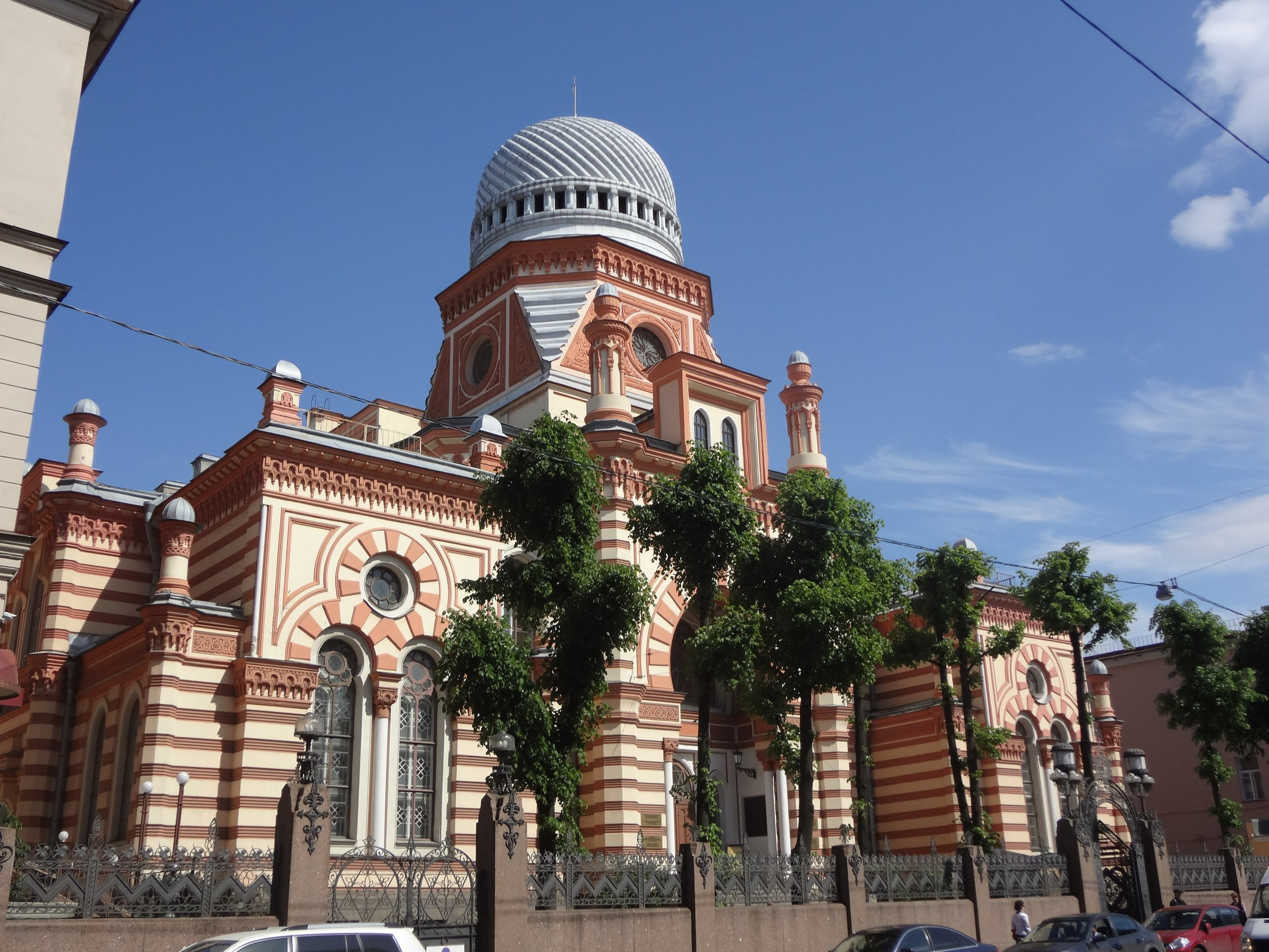 Great Ghoral Synagogue, Spb